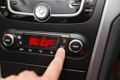 Car Air Conditioner - stock photo