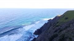 Byron Bay Cliffs 4k Stock Footage