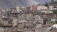 Scanno small town of Abruzzo Stock Footage