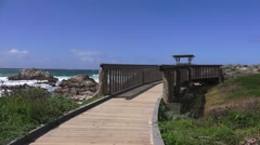 Asilomar State Parks trails and walks Stock Footage