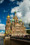 Stock Photo of Church of the Savior on Blood in Saint-Petersburg, Russia