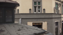 View from a Building in Trastevere Stock Footage