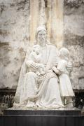 Statuary of Jesus Christ in the St. Joseph's Cathedral in Hoan Kiem, Vietnam. - stock photo