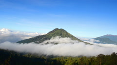 Bromo Volcano, East Java, Indonesia - stock footage
