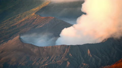 Stock Video Footage of Bromo Volcano, East Java, Indonesia