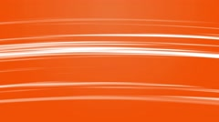 abstract elegant wind animation on colorful motion background orange - stock footage