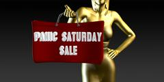 Panic Saturday Sale Piirros