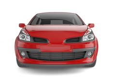 City car with blank surface for your creative design. - stock illustration