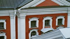 View of historical buildings in Saint-Petersburg, Russia Stock Footage