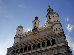 Stock Photo of Perspective view of Poznan city hall in Poland