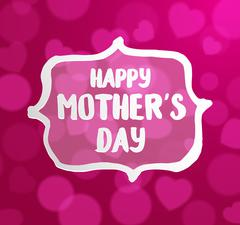 Happy Mothers's Day typographical Stock Illustration