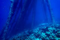 Submerged Structures Stock Photos
