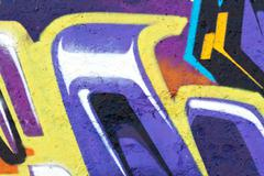 Graffiti abstract creative background colors Stock Illustration