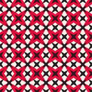 Mosaic geometric seamless pattern Stock Illustration