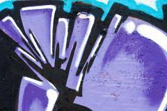 abstract graffiti texture on a wall - stock illustration