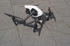 Image of the Dji Inspire 1 drone UAV quadcopter Kuvituskuvat