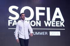 Sofia Fashion Week man - stock photo