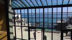 Monterey Bay Aquarium, exterior Stock Footage