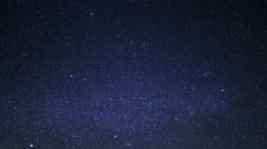 Astrophotography Time Lapse of Starry Sky over Tufa Towers -Sky Only- - stock footage