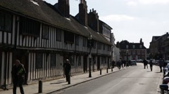 Stratford-upon-Avon Establishing shot, England - stock footage