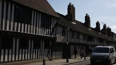 Stratford-upon-Avon Establishing shot, England Stock Footage