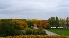 Westerplatte Monument of Polish defenders, Gdansk Stock Footage