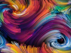 Stock Illustration of Exploding Color