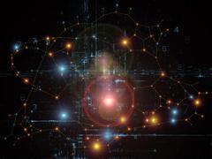 Computing Network - stock illustration