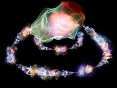Kiss of Jewels - stock illustration