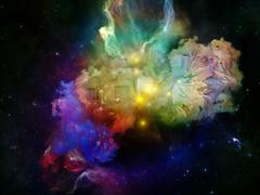 Glow of Dream Space - stock illustration