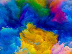 Digital Colors Stock Illustration