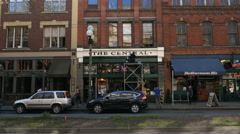 Central Tavern, Pioneer Sq., Seattle, Old Town Stock Footage
