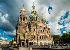 Church of the Savior on Blood in Saint-Petersburg, Russia Stock Photos