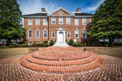 The Delaware Public Archives Building in Dover, Delaware. Stock Photos