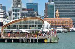 Visitors at The Cloud in Auckland waterfront, New Zealand Stock Photos