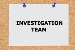 Investigation Team concept Stock Illustration