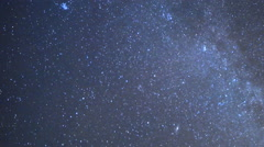 Astro Time Lapse of Geminid Meteor Shower Burst into Plume 25% Speed 200% Zoom Stock Footage