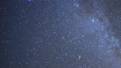 Astro Time Lapse of Geminid Meteor Shower Burst into Plume 50% Speed 200% Zoom Stock Footage