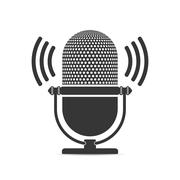 Microphone Icon Stock Illustration