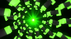 Bright Star Gate Tunnel Stock Footage