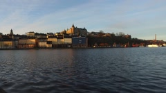 Stockholm Old Town City View, Sweden - stock footage