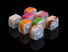 Sushi Set Allsorts Stock Photos