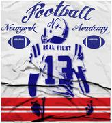 college football graphics for t-shirt,vector graphics - stock illustration