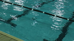 Swimmpool water Stock Footage