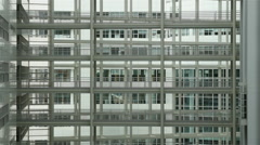Time Lapse of Interior of City Hall in The Hague Netherlands Stock Footage