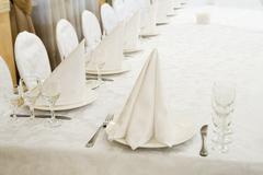 Restaurant event. Banquet, wedding, celebration - stock photo