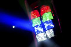 Disco lighting Stock Photos