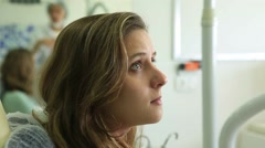 Patient listening to female doctor instructions Stock Footage