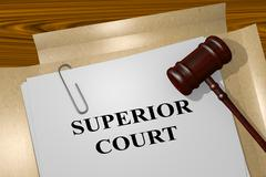Superior Court concept - stock illustration