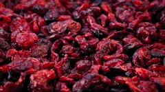 Cranberries In Pile Rotating - stock footage